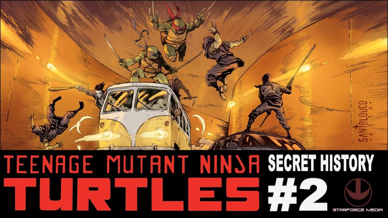 Teenage Mutant Ninja Turtles: Secret History of the Foot Clan #2 – Review