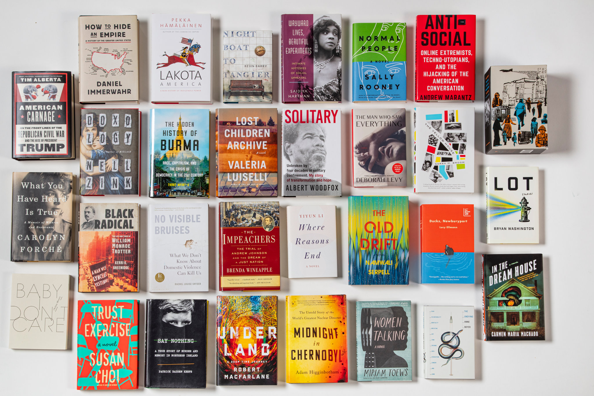 Best Fiction Books of the Decade